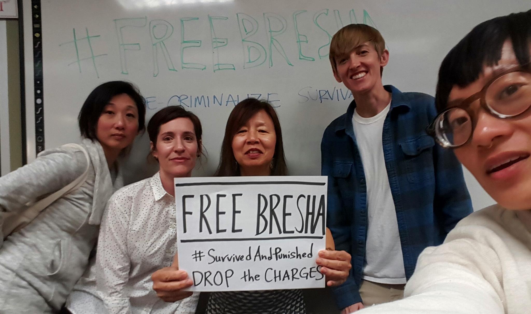 #FreeBresha #SurvivedAndPunished https://freebresha.wordpress.com/