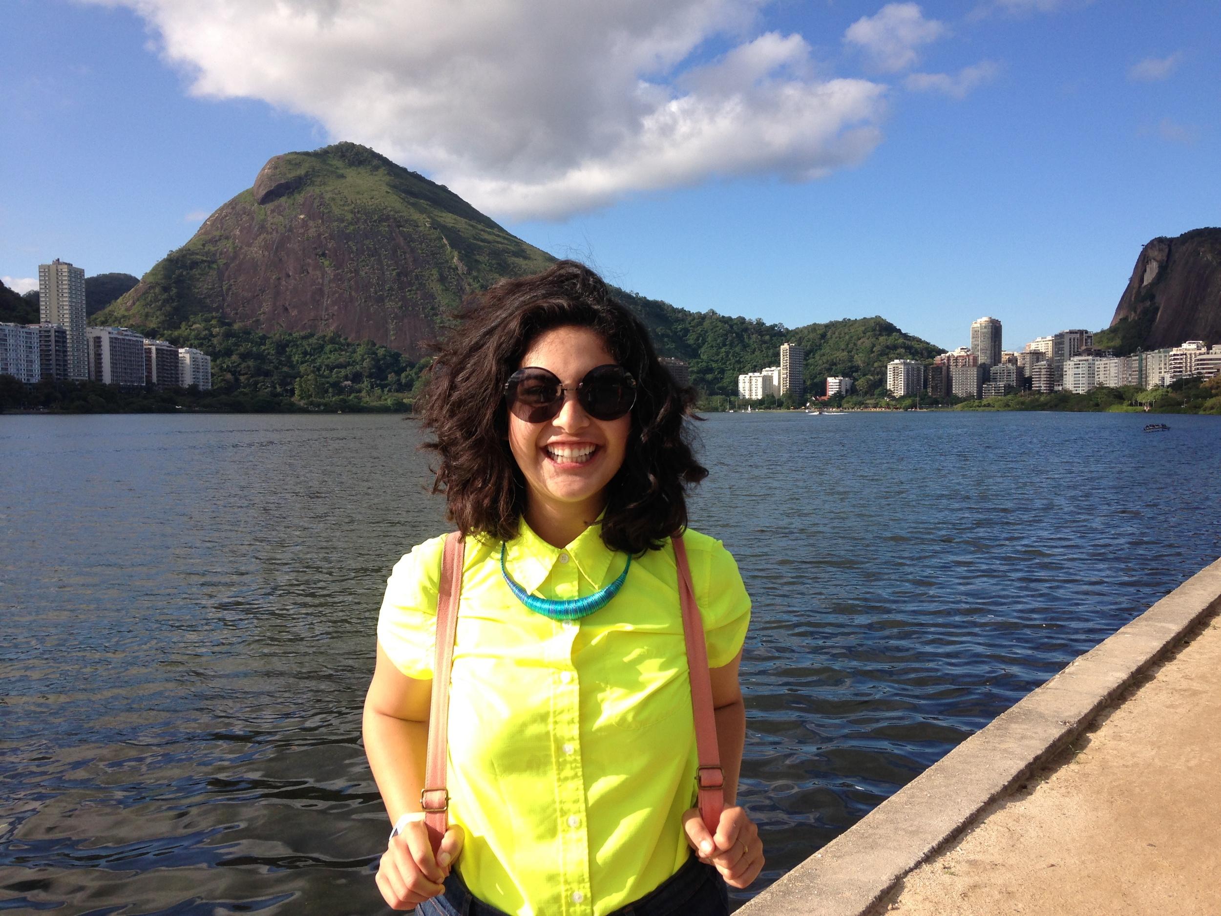 Me at the Lagoon