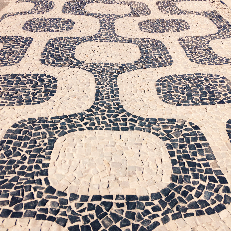 Impanema Beach Sidewalk