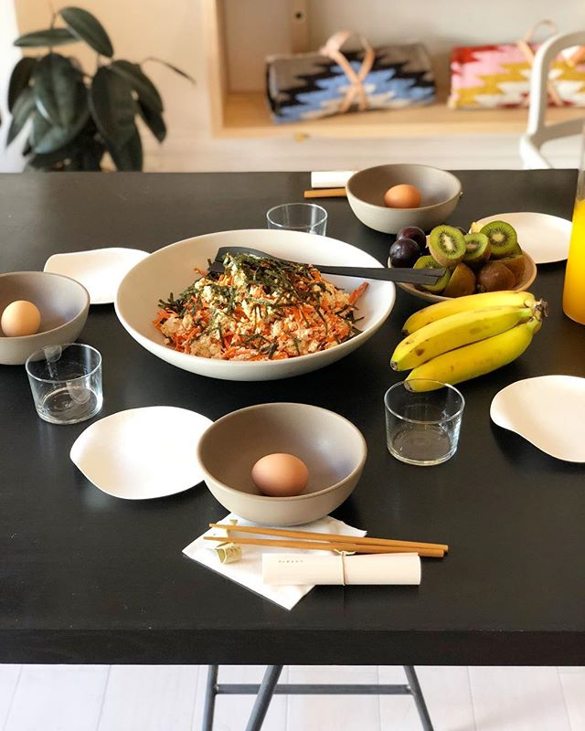I attended @baana.co's Breakfast Society this morning! What a great way to start a Friday! I met some amazing creative folks as well! Thank you @_nourish_co for the delicious traditional Japanese breakfast. Now if only I could have a breakfast spread like this everyday... #baana #sf #designermeetup