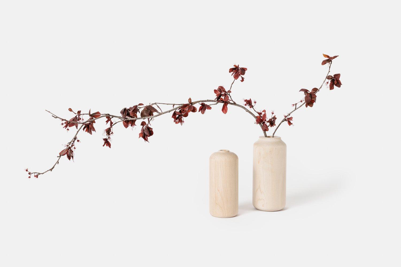 Tall Maple Vases