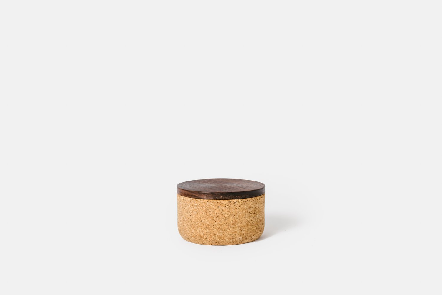 Small Walnut Canister