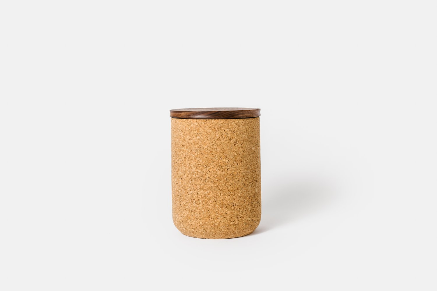 Large Walnut Canister