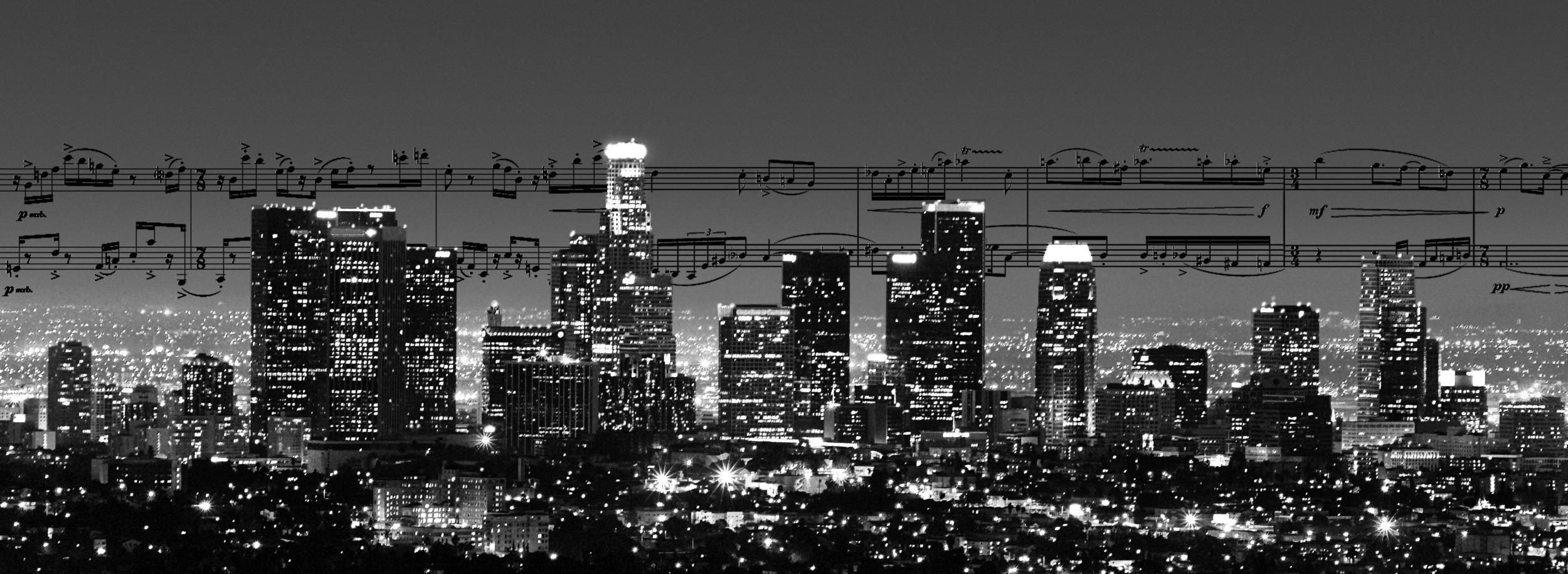 title page skyline