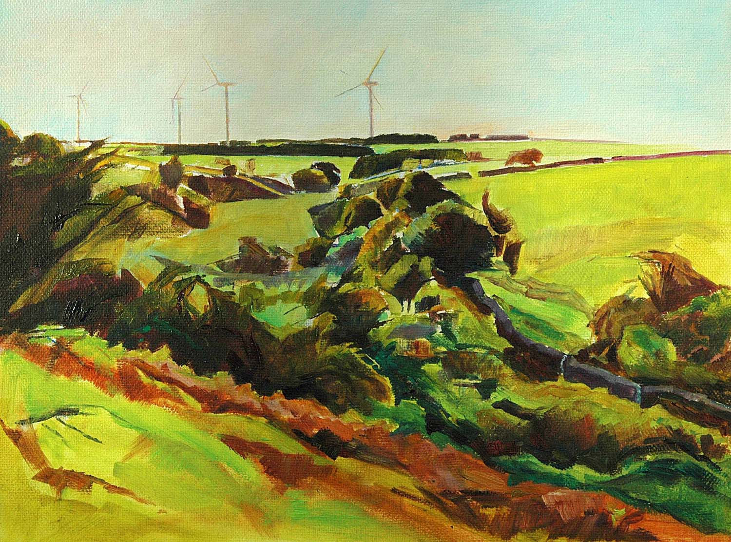 Turbines from the Fell
