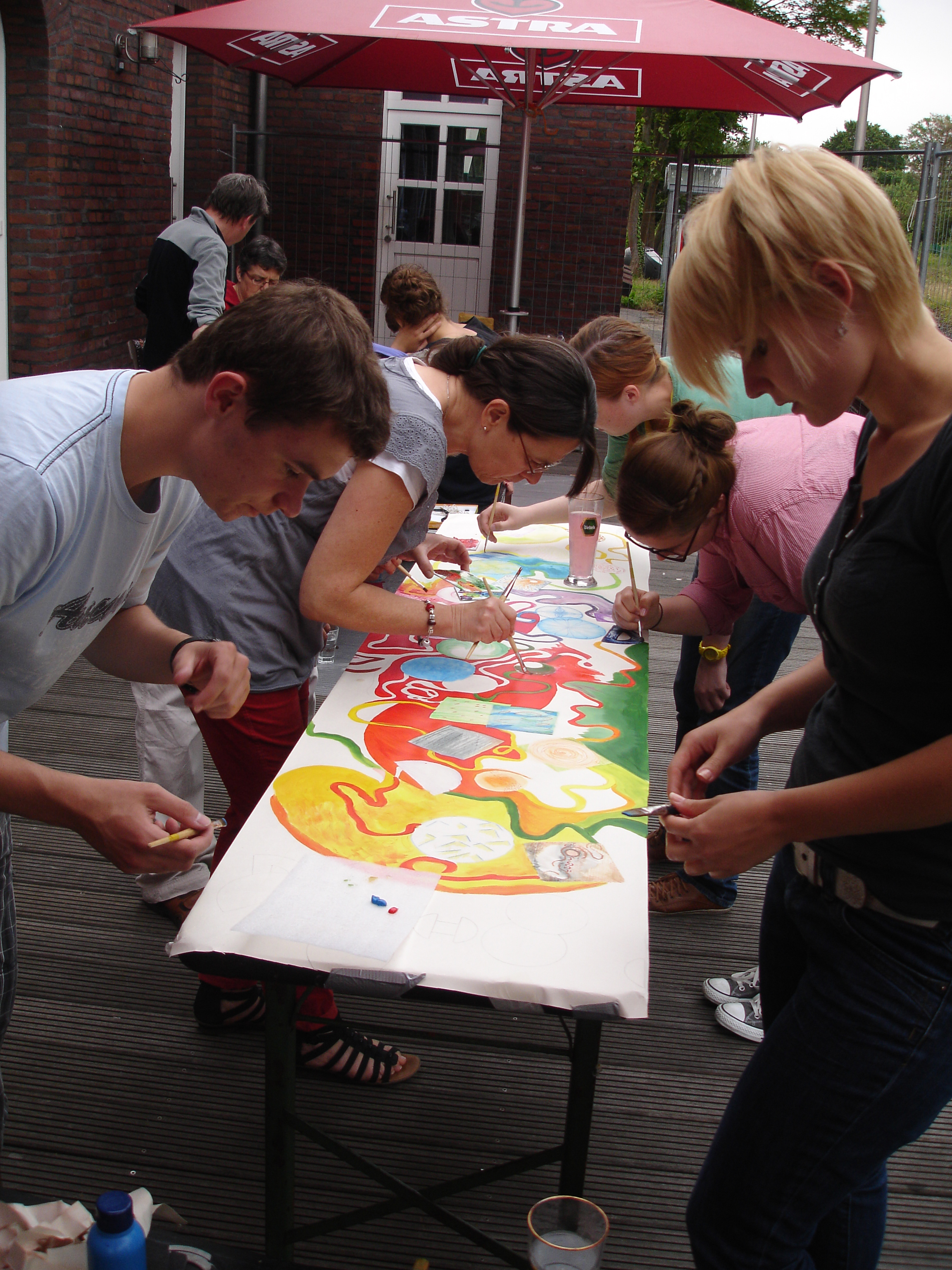 Bearpark Artists Co-op Workshop in Kreis Wesel, Germany 2012.