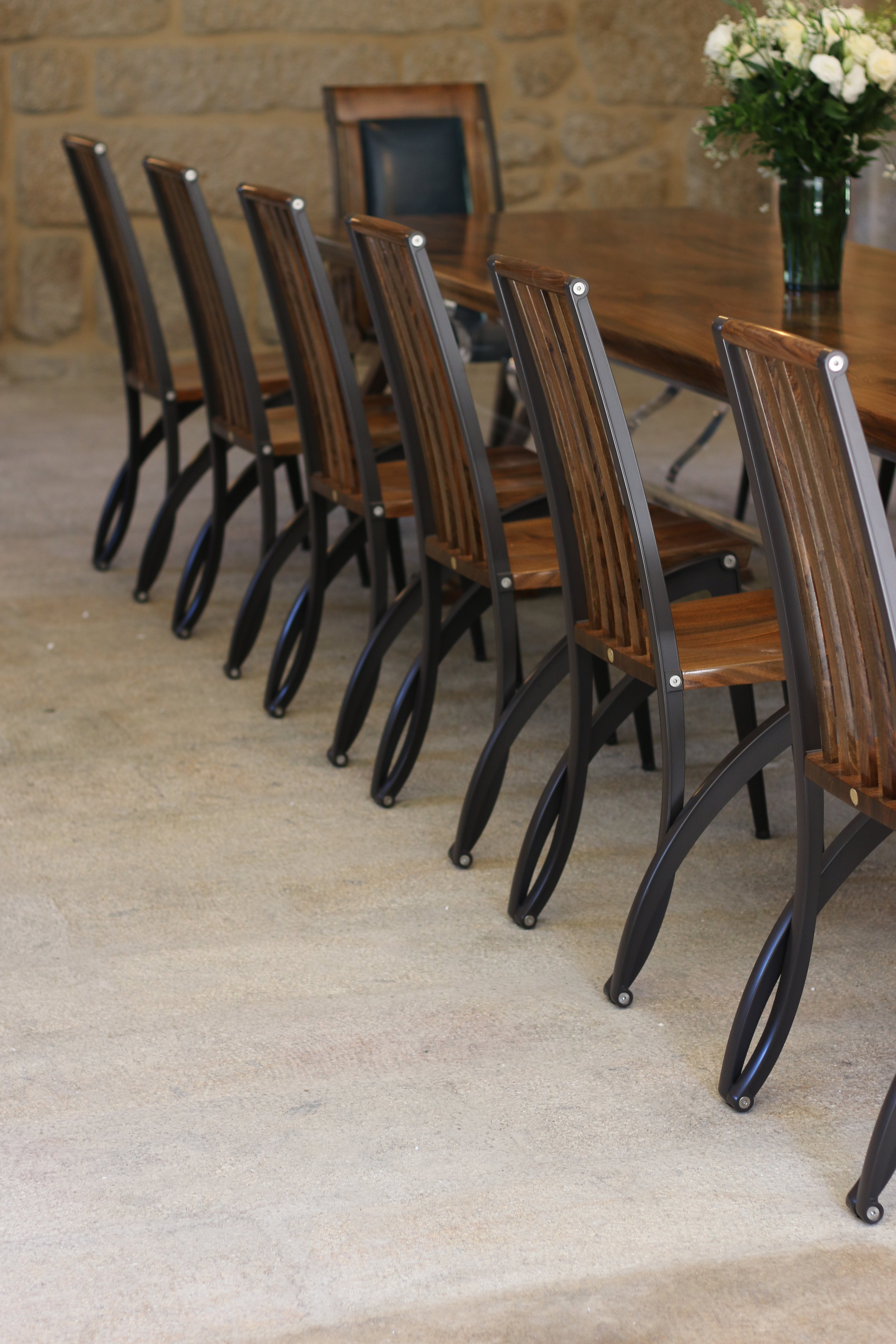 Collection of Màntide dining chairs