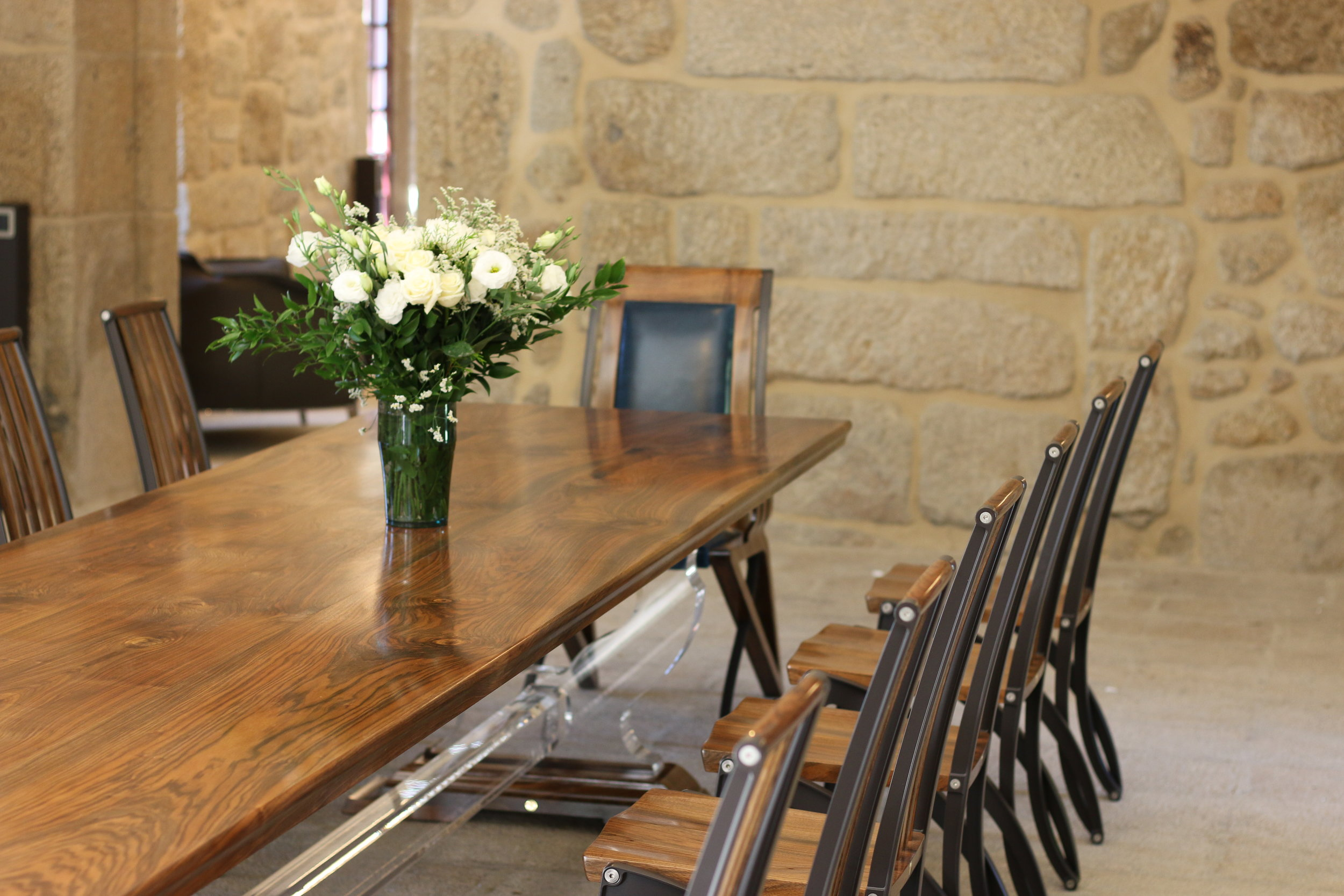 Refectory Table and Mantide Chairs