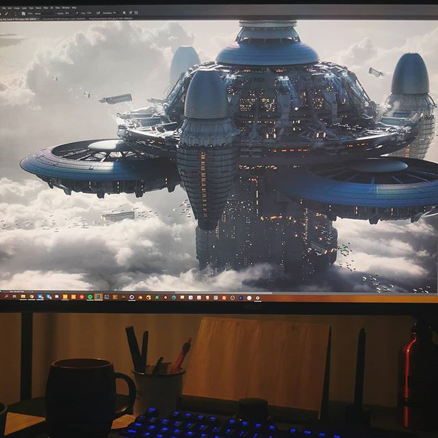 Back to some personal projects that are due this year 🙄 Work in progress! 💥 #painting #3d #art #digitalpainting #drawing #scifi #illustration #photoshop #vfx #conceptdesign #conceptart