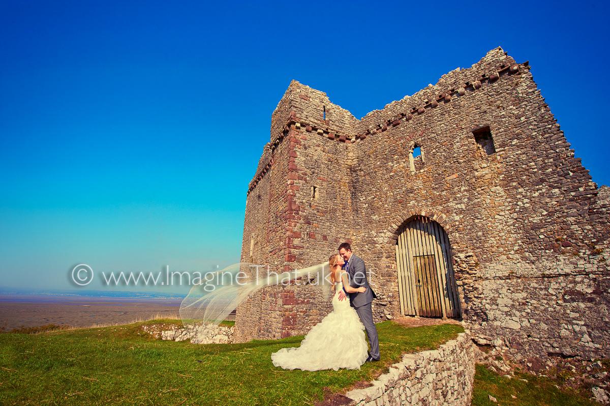Wedding Photography Weobley Castle