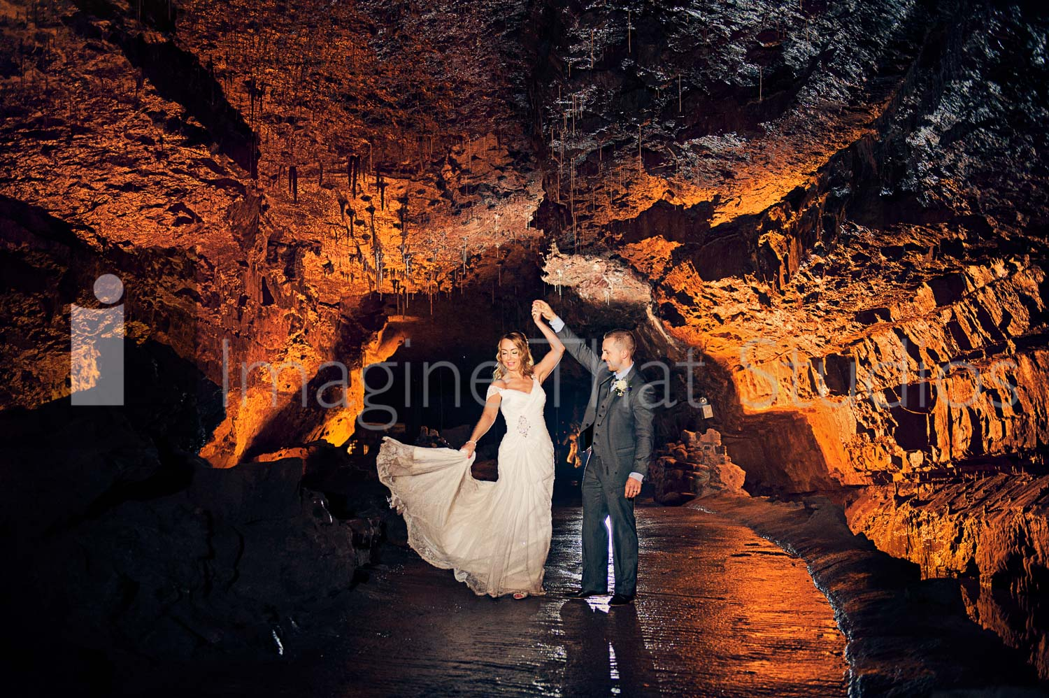 Wedding Photography NAtional Show Caves Brecon