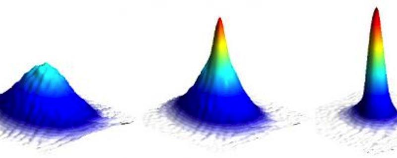 Image: Formation of a Bose-Einstein condensate.