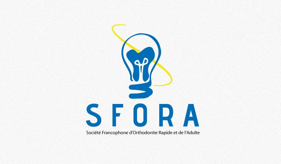 Logo de la Scoiete francaise pour l'orthodontie rapide et de l'adulte