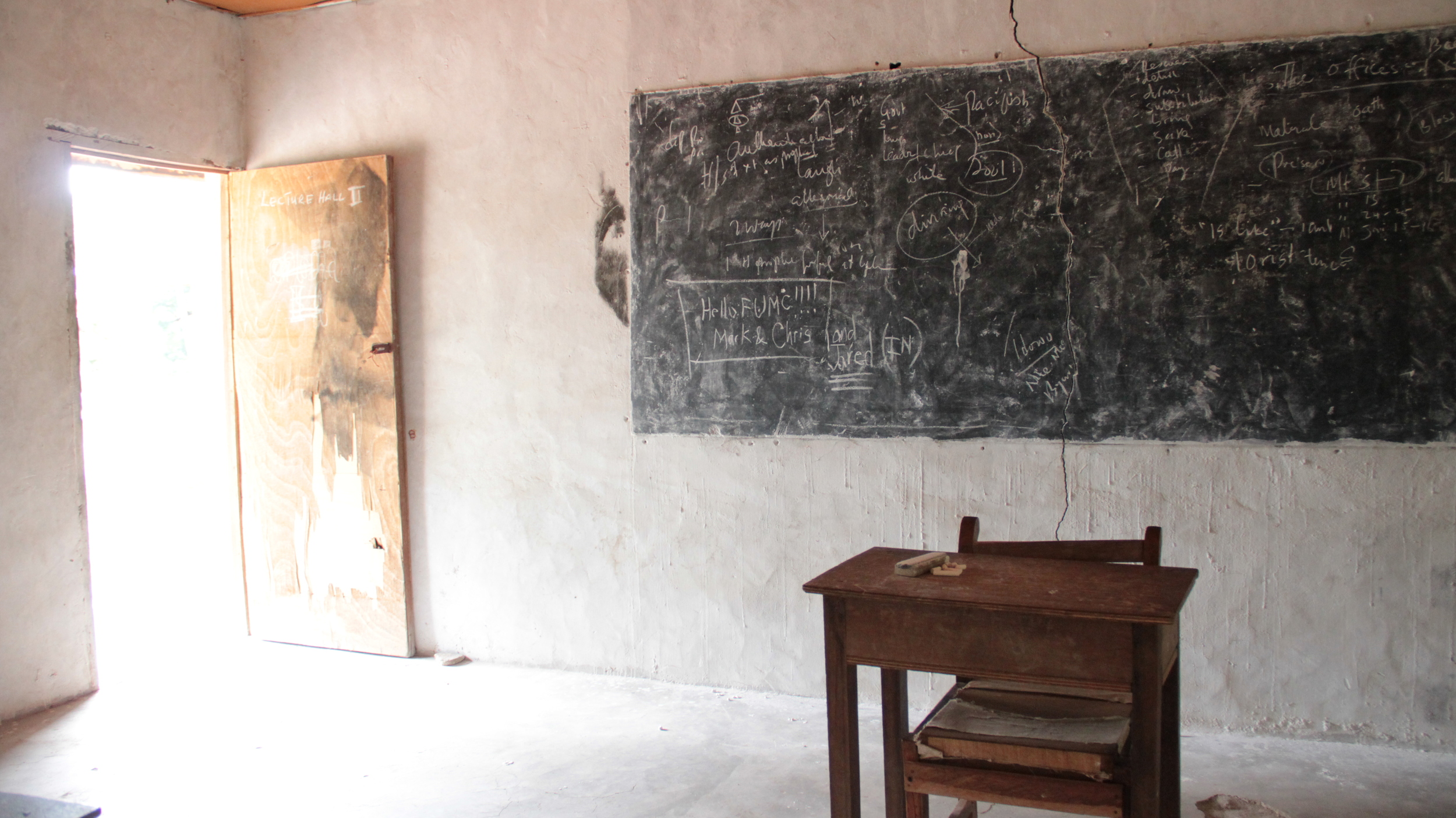 lecture hall in BTS Administration Building