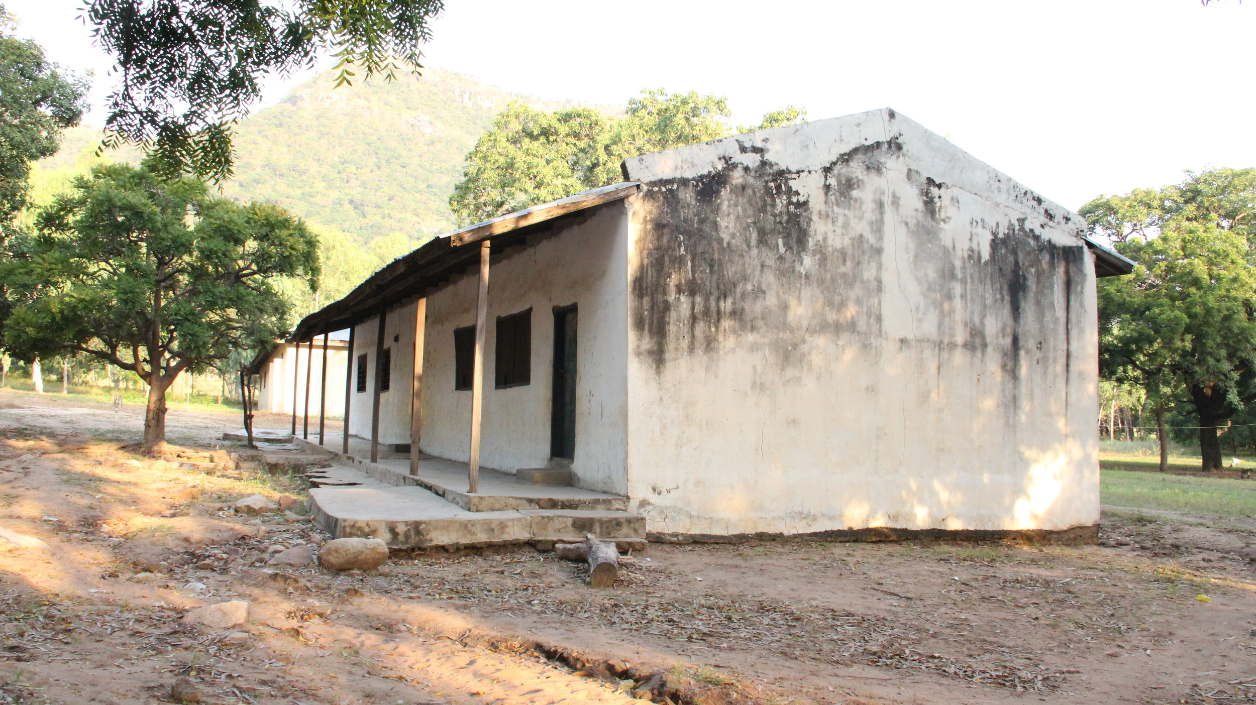 The Old Chapel building now houses two lecture halls.
