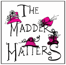 The  Madder Hatters  – Diana Niles King and Belle McIntyre – hand make, trim and sew all of their creations in the studio workroom. Depending on the season, the collections are made up in felt, fur, Panama straw, sinemay, Milan, Starbrite and horsehair.