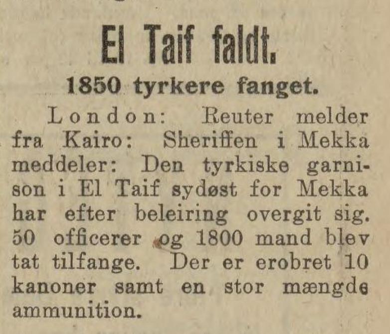 Bergens Tidende , 26. september 1916
