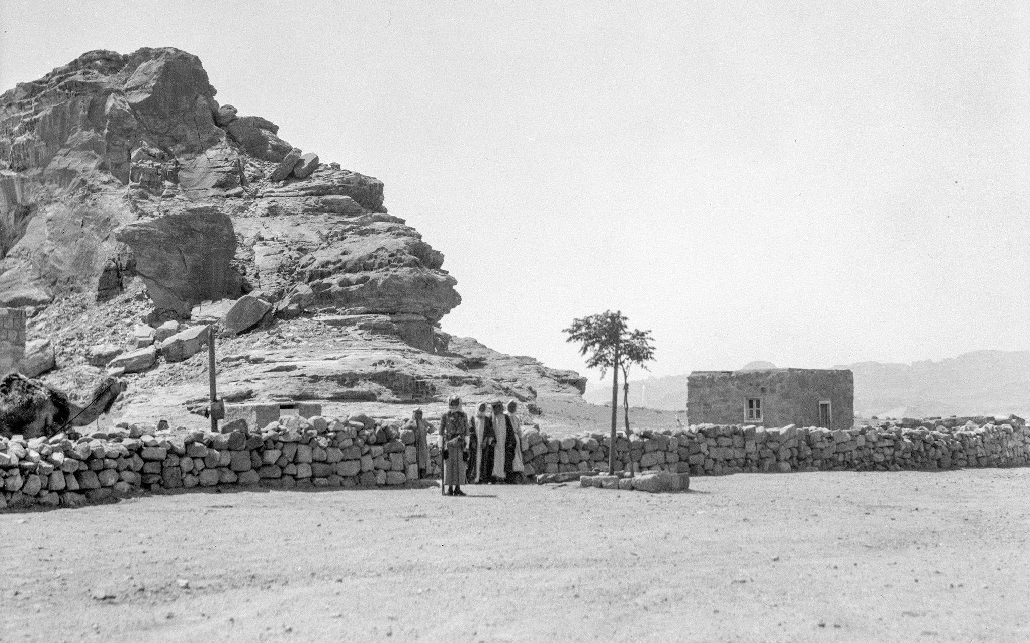 Transjordanske grensevakter i Wadi Rum