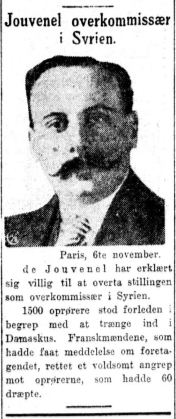 Aftenposten  6. november 1925