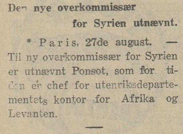 Morgenbladet  28. august 1926