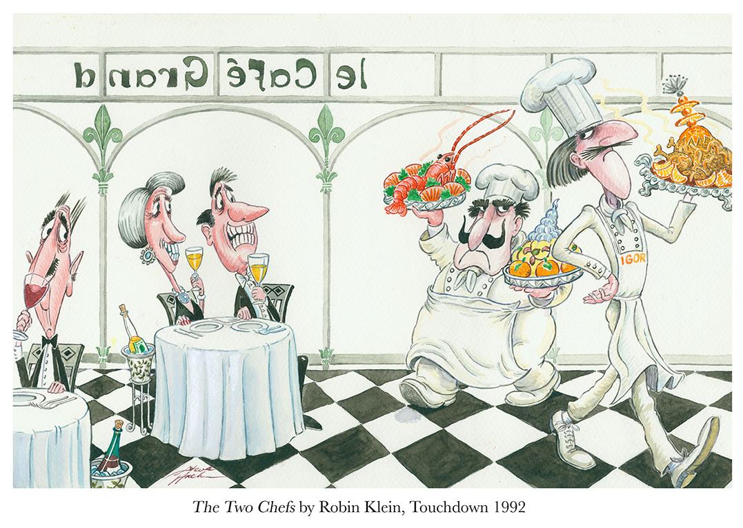 1992 The Two Chefs by Robin Klein Touchdown.jpg