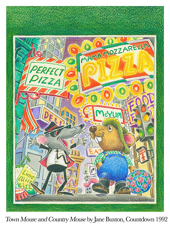 1992 Town Mouse and Country Mouse by Jane Buxton Countdown.jpg