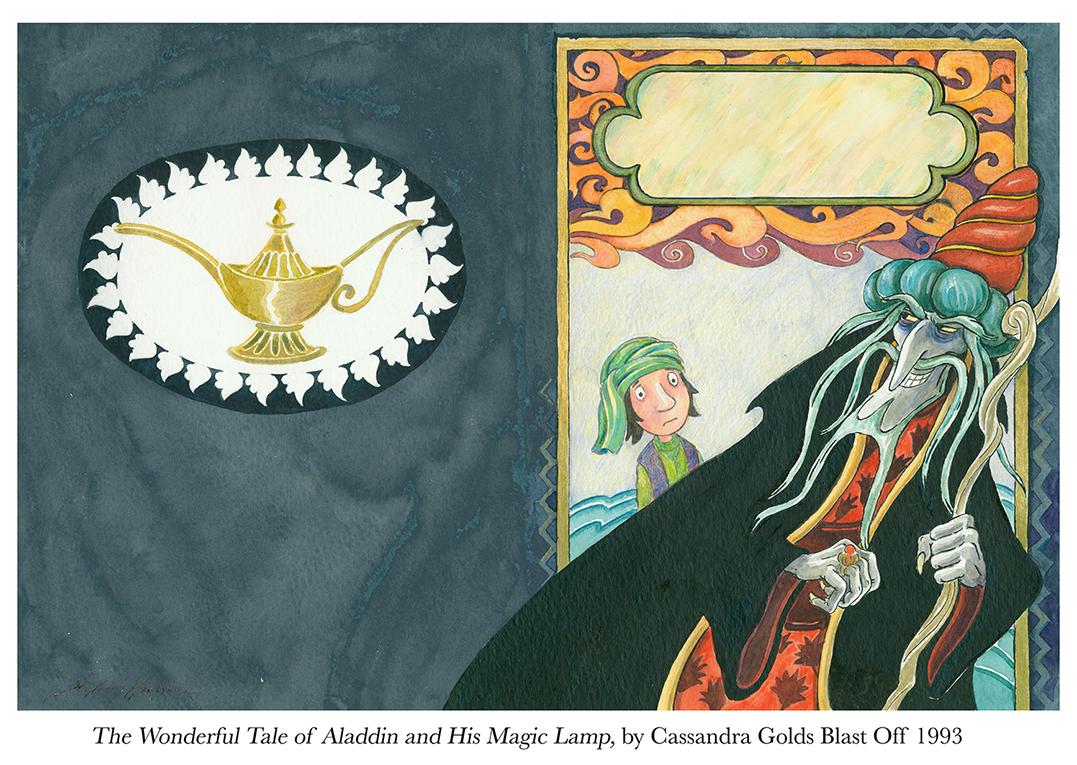 1993 Aladdin and his Magic Lamp Cassandra Golds Blast Off.jpg