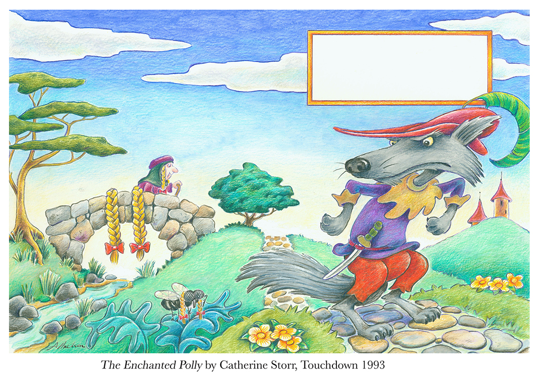 1993 The Enchanted polly by Catherine Storr Touchdown.jpg