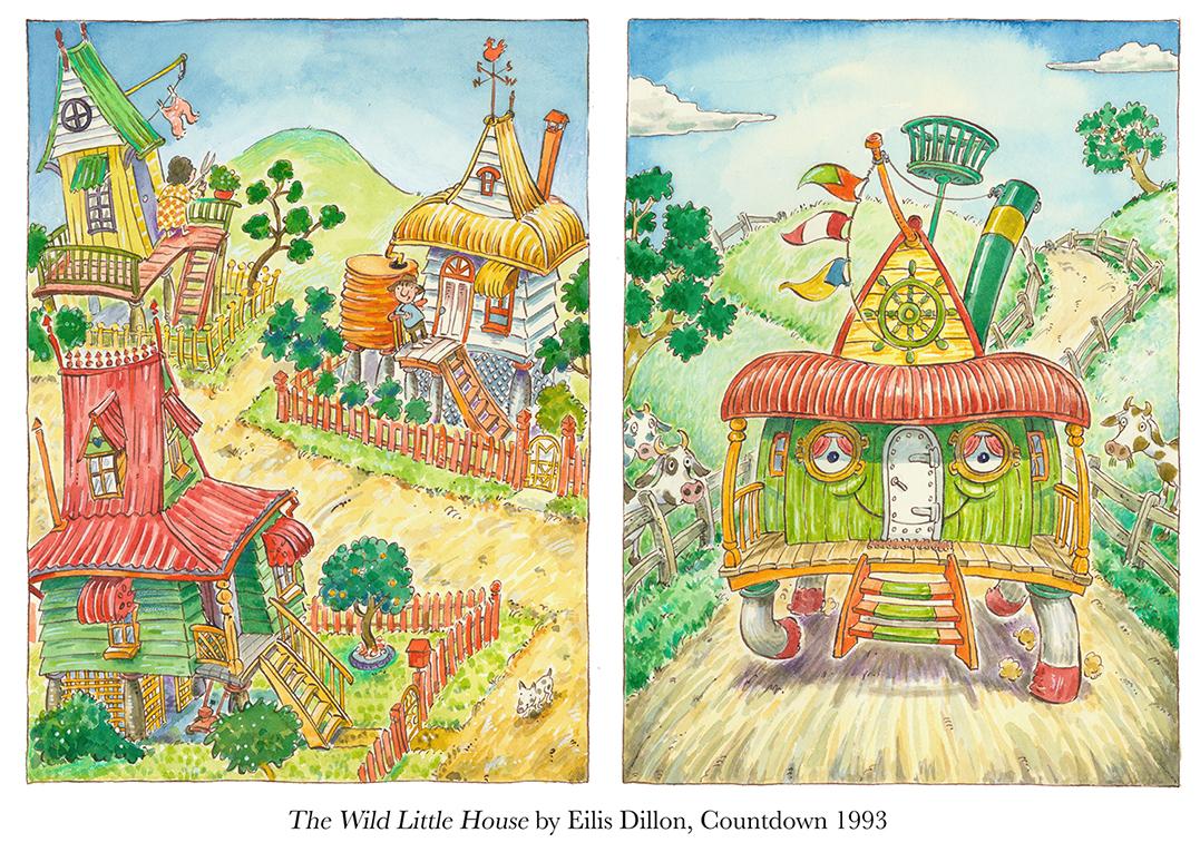 1993 The Wild Little House by Eilís Dillon Countdown.jpg