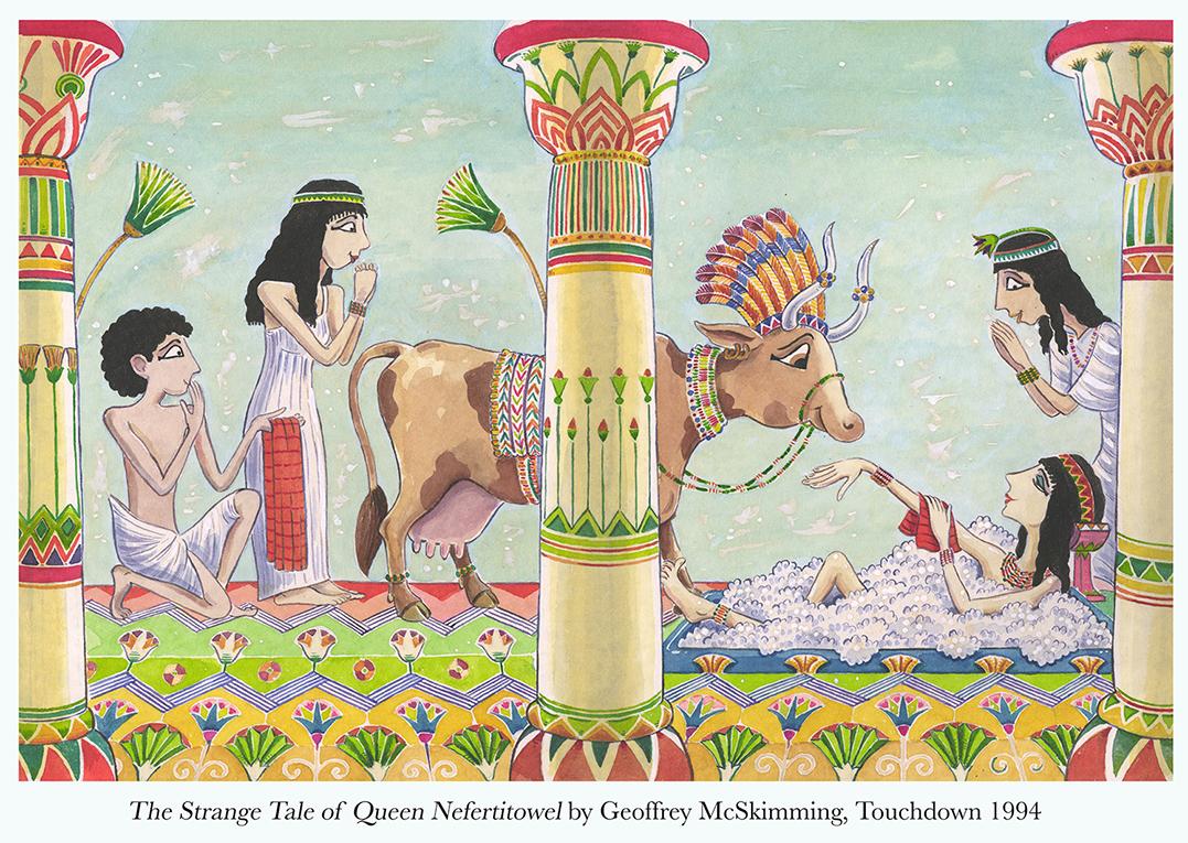 1994 The Strange Tale of Queen Nefertitowel by G. McSkimming Touchdown.jpg