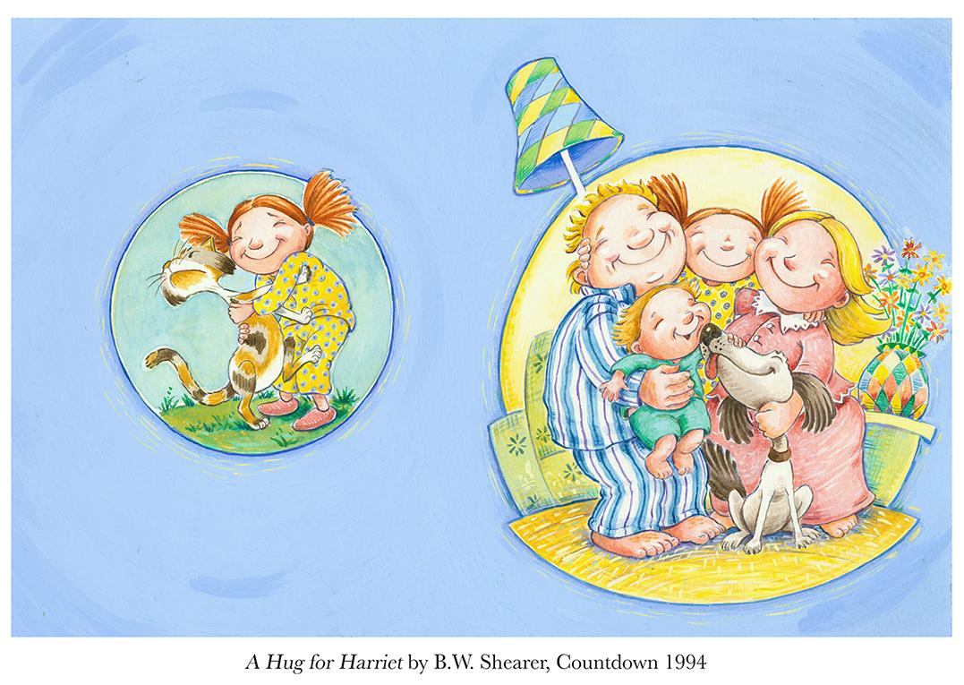 1994 A Hug for Harriet by B.W.Shearer School Magazine Countdown #3.jpg