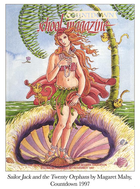 1997 Sailor Jack and the Twenty Orphans by M. Mahy Countdown.jpg