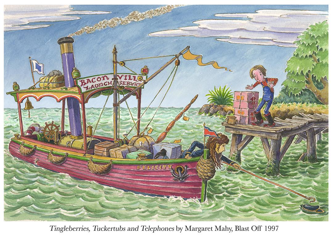 1997 Tingleberries...by Margaret Mahy Blast Off.jpg