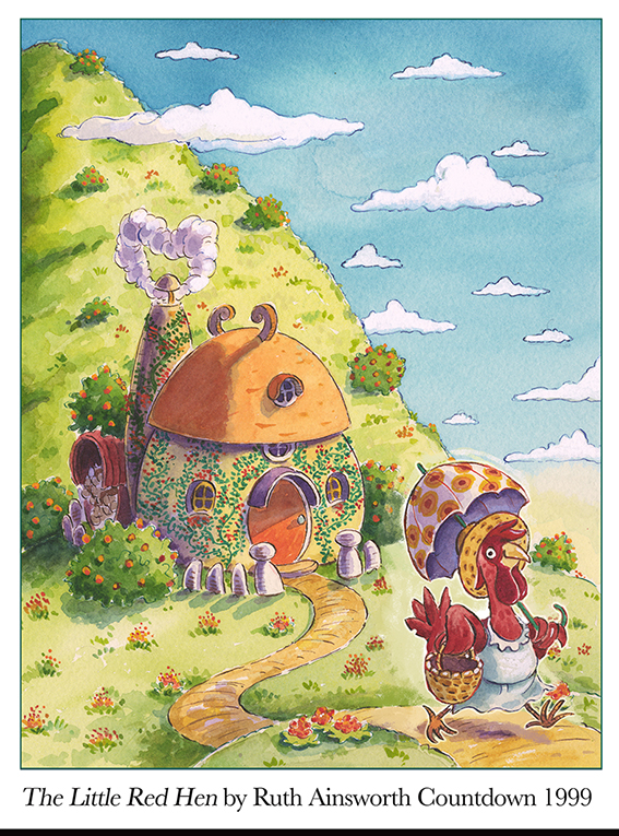 1999 The Little Red Hen by Ruth Ainsworth, Countdown.jpg