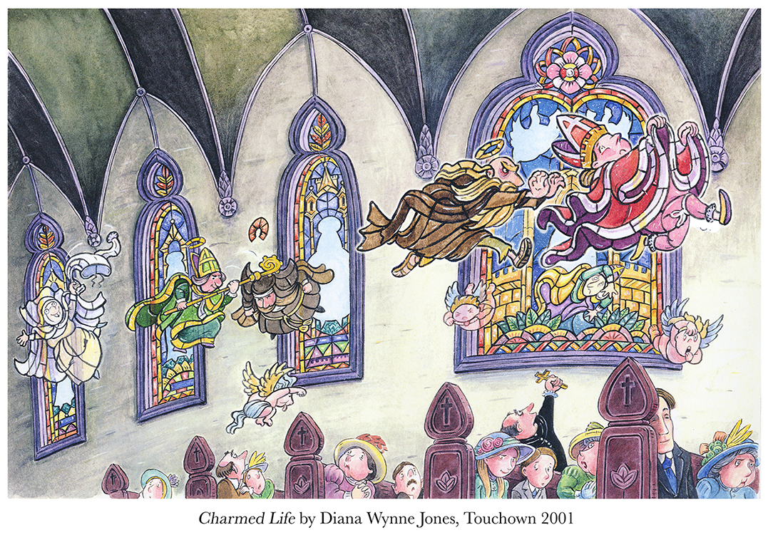 2001 Charmed Life by Diana Wynne Jones Touchdown.jpg