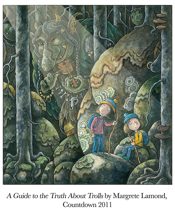 2011 A Guide to the Truth About Trolls by Margrete Lamond, Countdown.jpg
