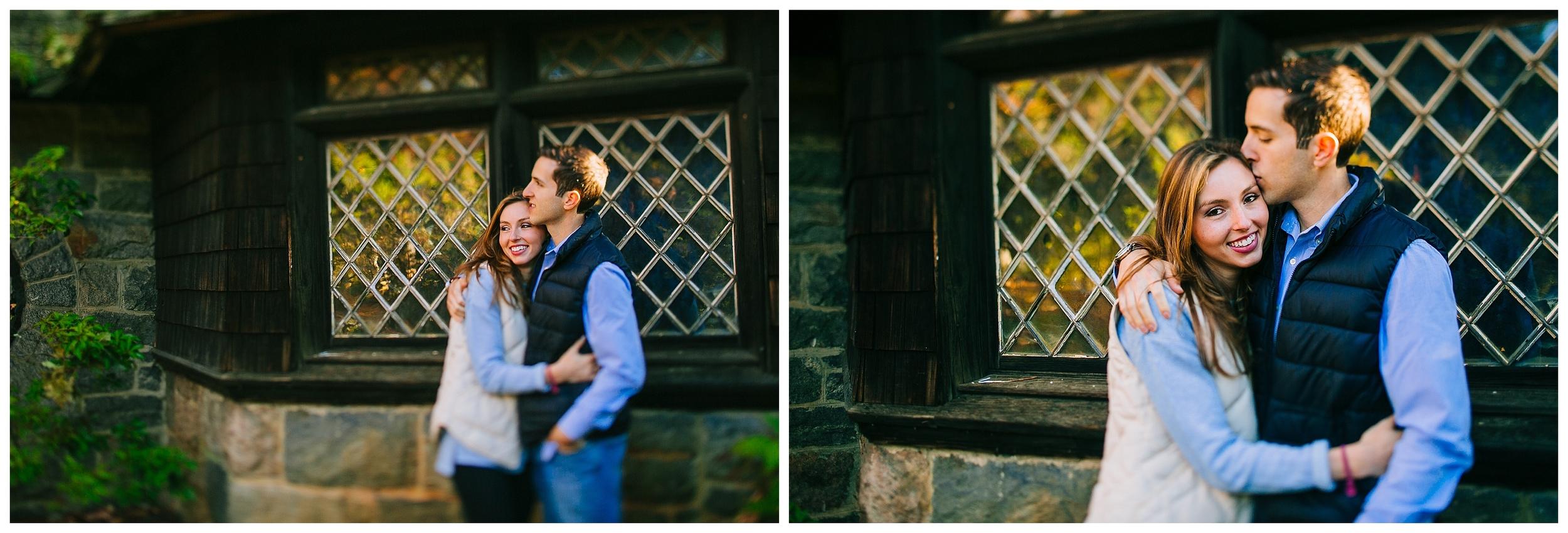 Skylands Manor Fall Engagement Photos