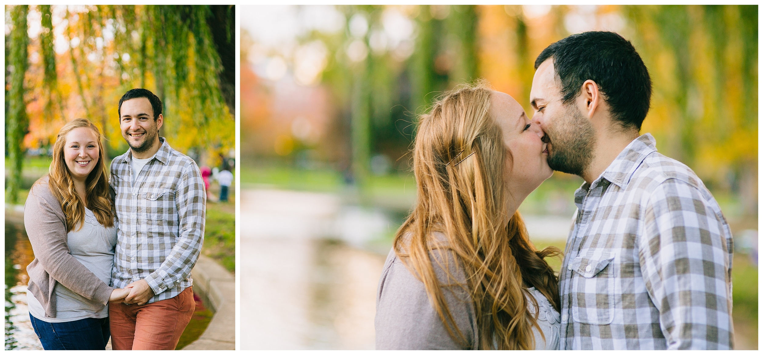 Boston Public Garden Engagement Photos
