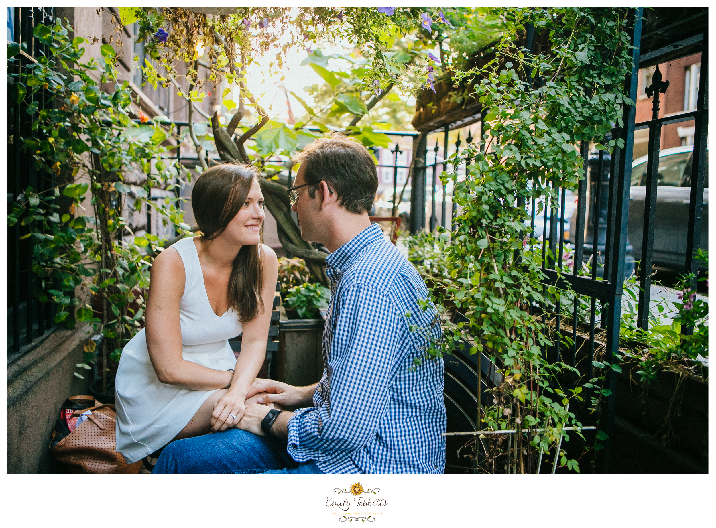 Emily Tebbetts Wedding Photography New York City NYC Manhattan Bryant Park Times Square Grand Central Station Subway MTA New York Public Library West Village West Side Highway High Line Engagement session couples session