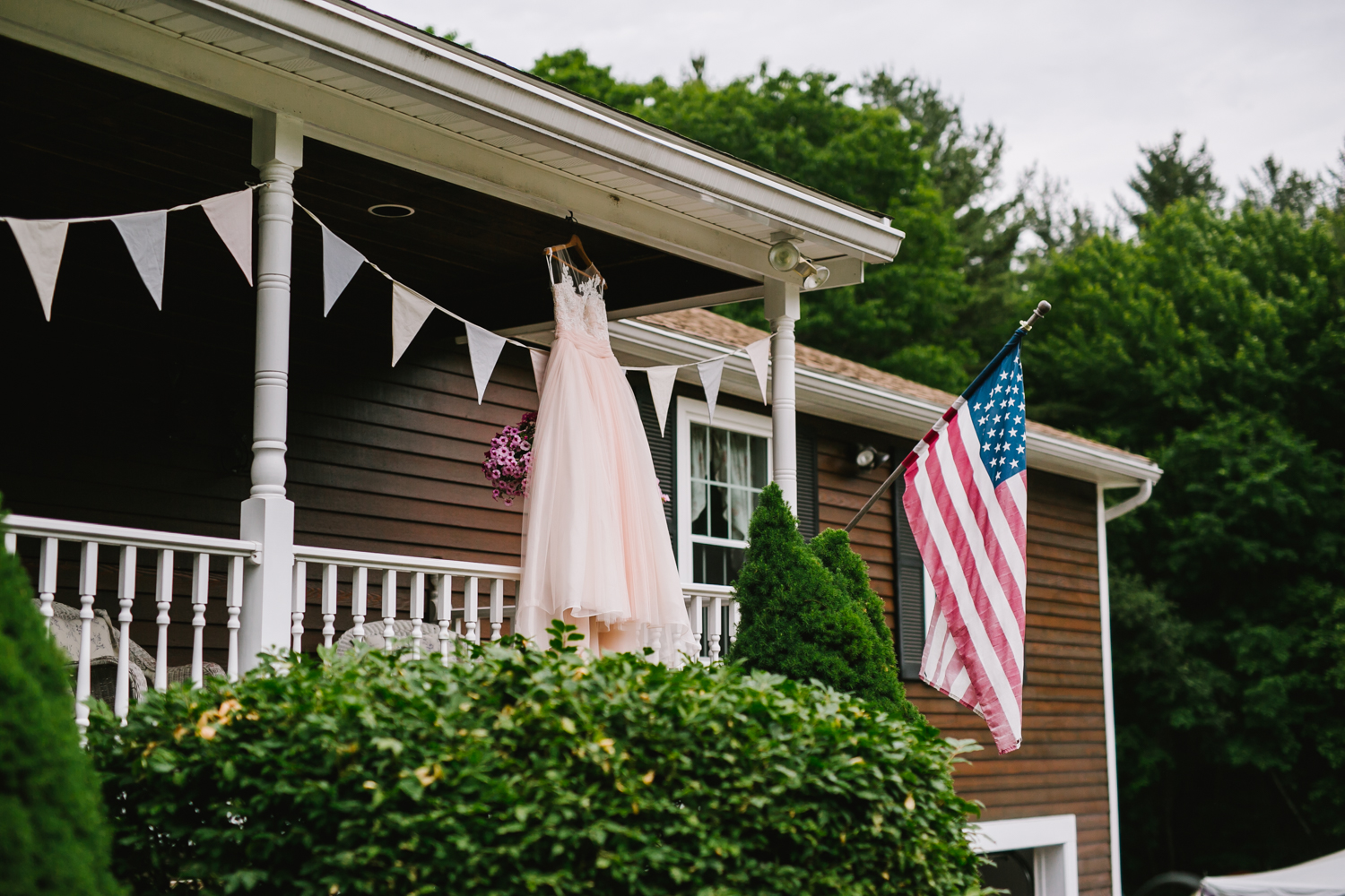 Emily Tebbetts Photography - back yard wedding gif atkinson nh confetti recessional bride and groom pizza truck -1.jpg