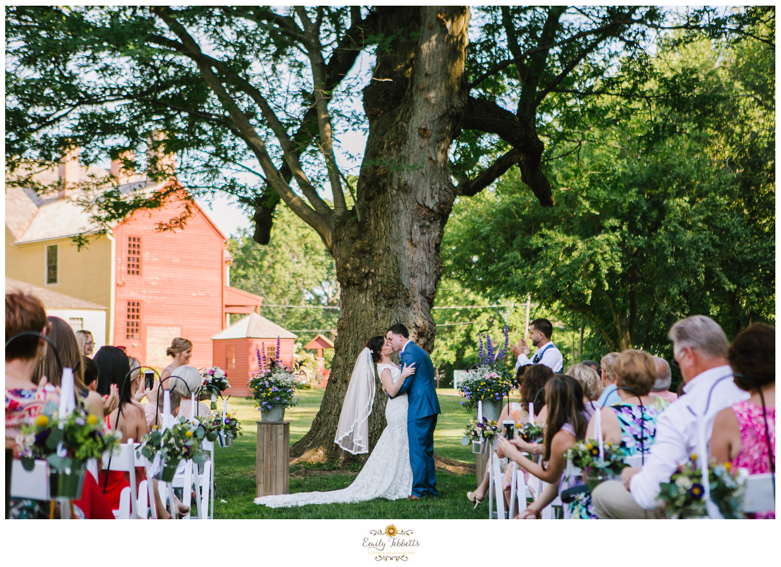 Emily Tebbetts Photography - Kara and Milton Wedding rustic chich Webb Barn Wethersfield CT connecticut-1.jpg