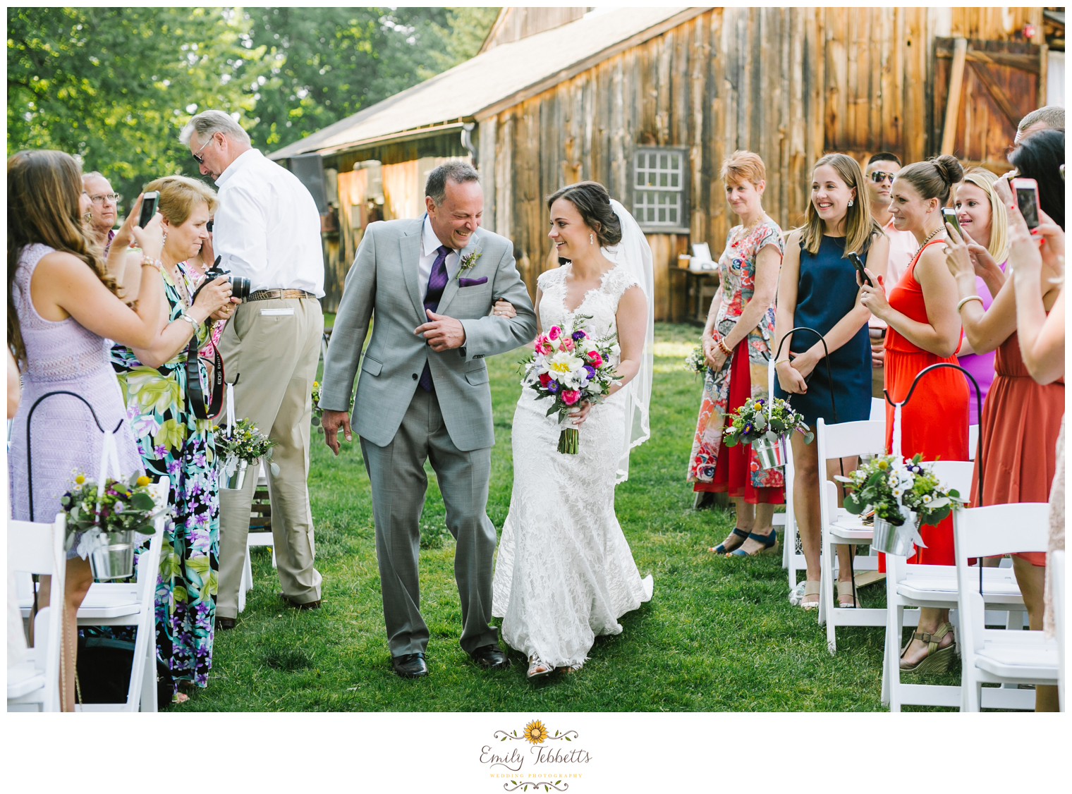 Emily Tebbetts Photography - webb barn wedding wethersfield ct connecticut rustic chic wedding first look fathers day emotional -4.jpg