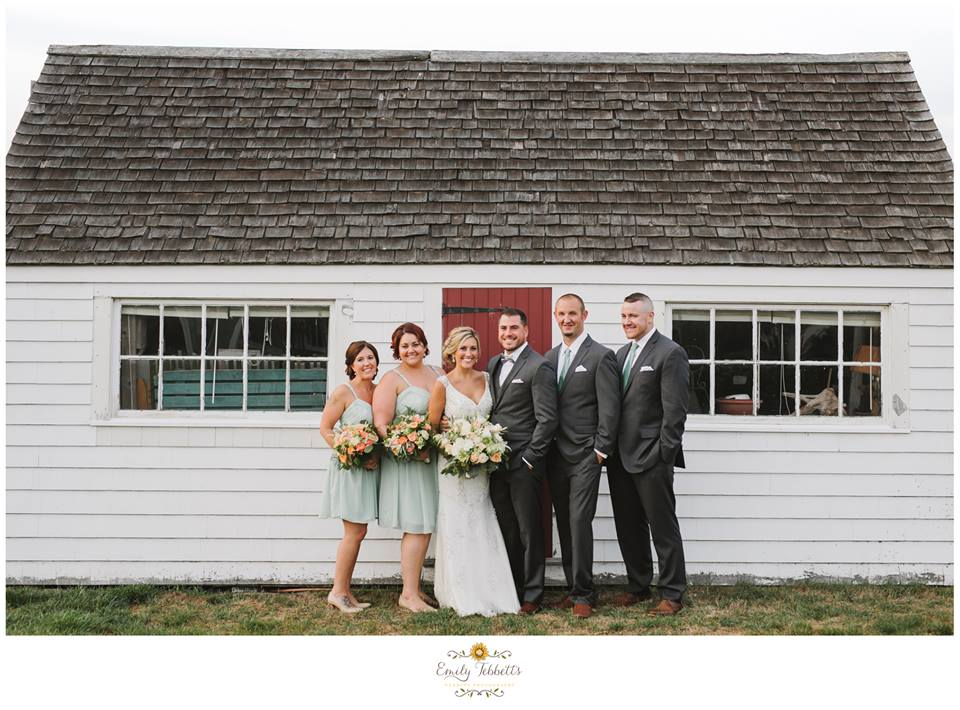 Scituate Intimate Backyard Beach Wedding with Lilly The Hero Pit Bull in Massachusetts - Emily Tebbetts Photography 2.jpg