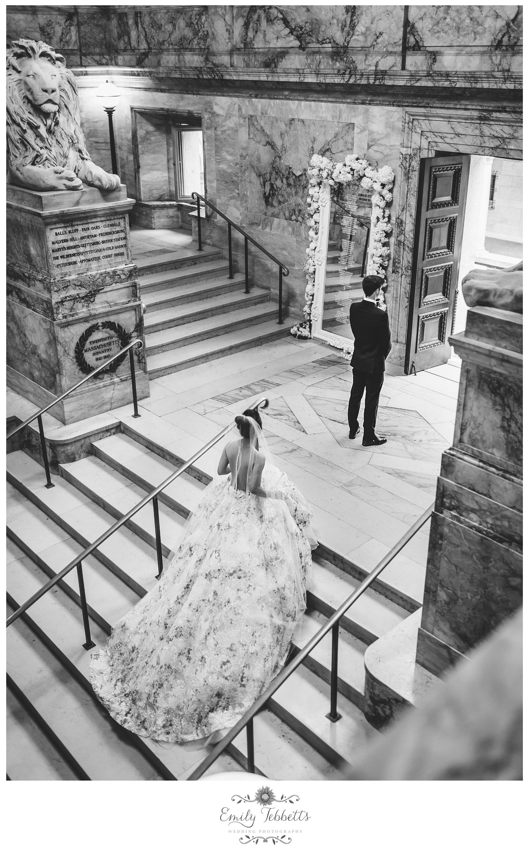 Boston Public Library BPL Wedding Emily Tebbetts Photography - Kaori + John-3.jpg