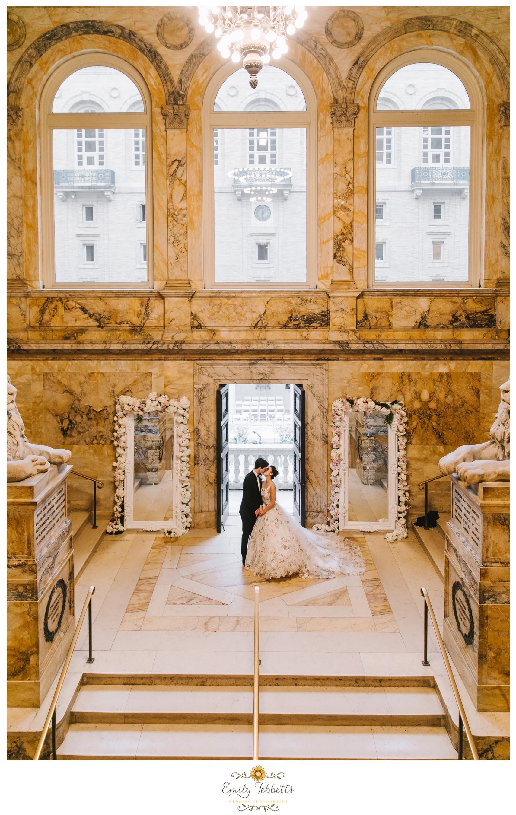 Boston Public Library BPL Wedding Emily Tebbetts Photography - Kaori + John-4.jpg