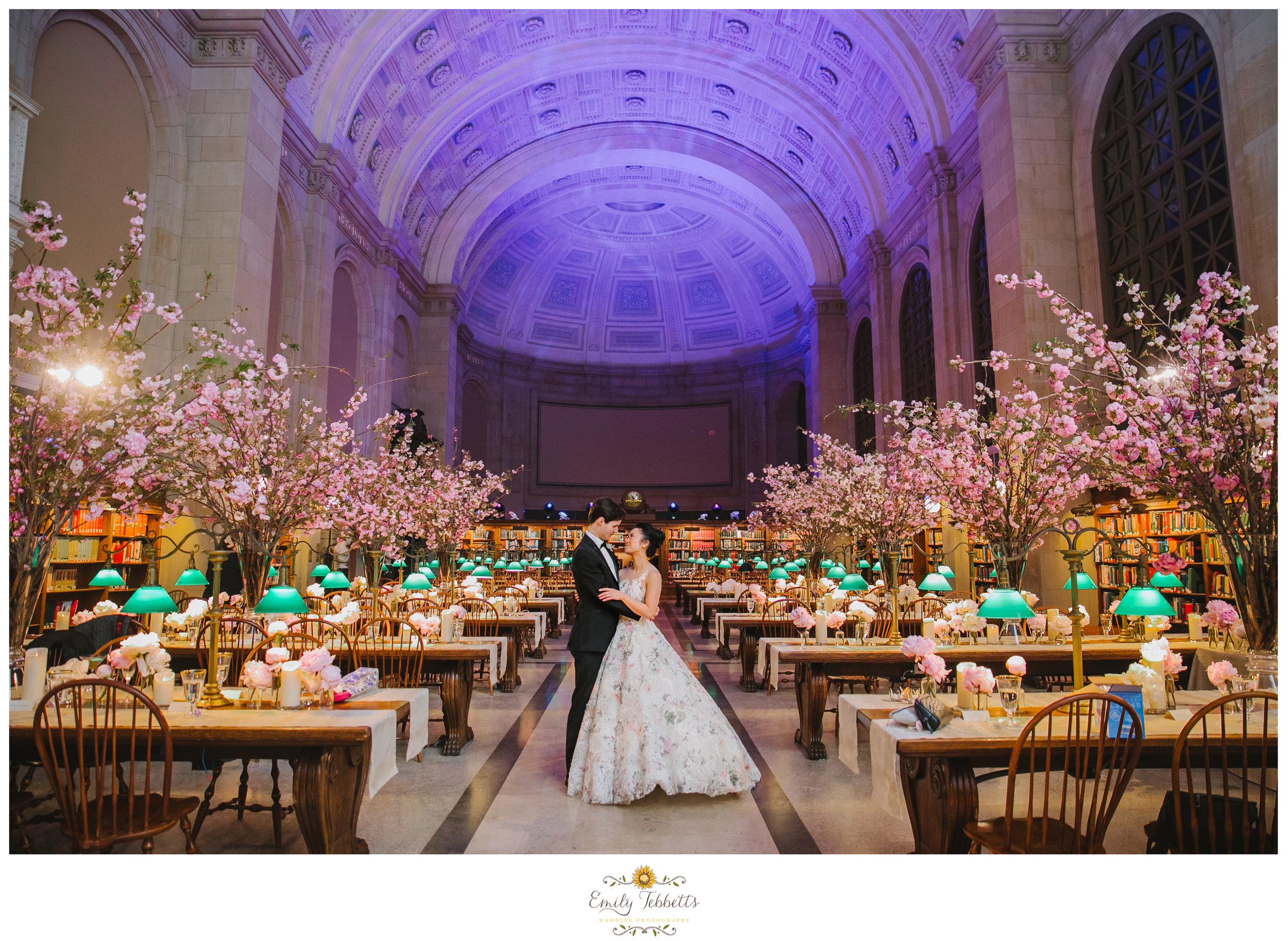 Boston Public Library BPL Wedding Emily Tebbetts Photography - Kaori + John-11.jpg