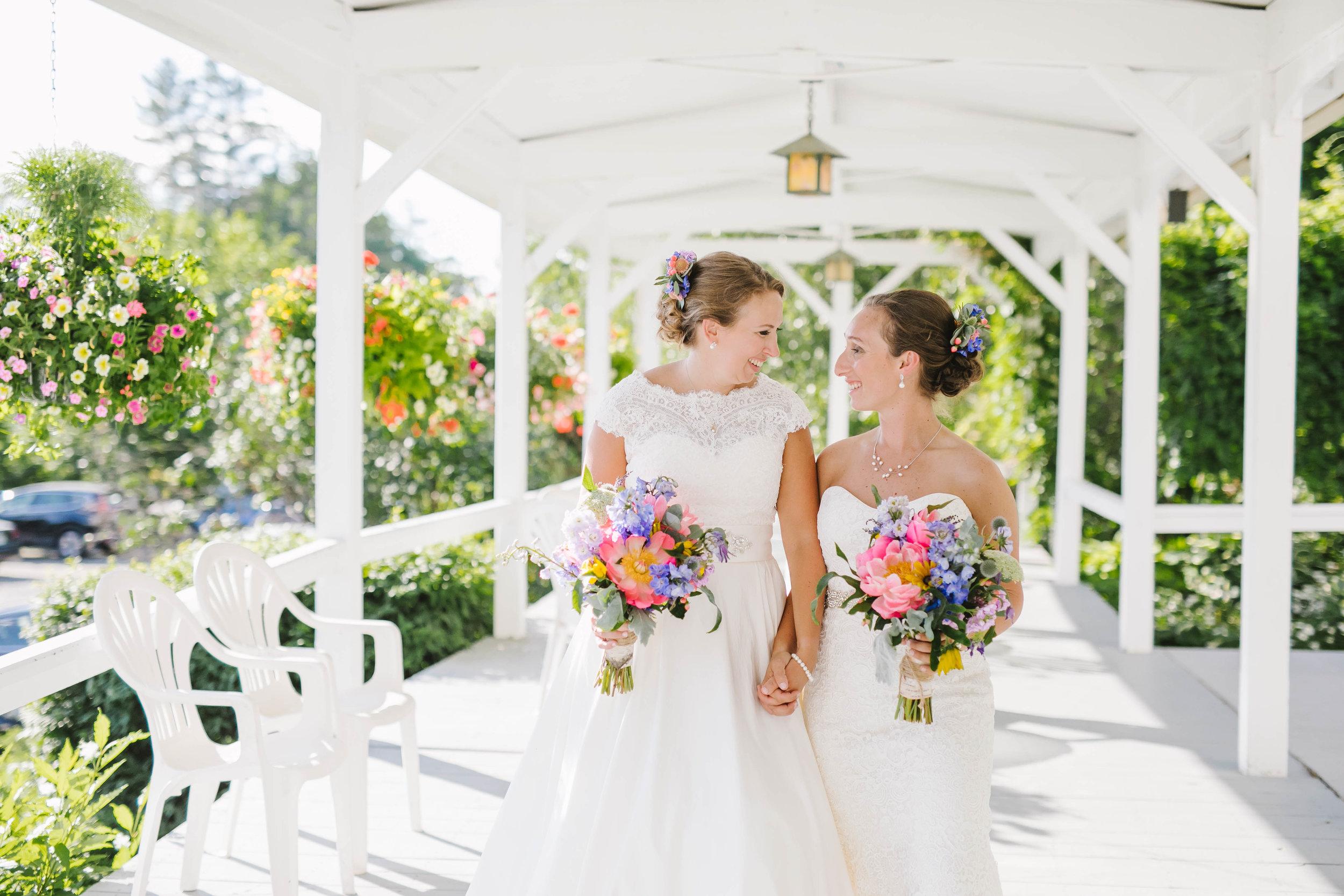Wedding at Inn at Newfound Lake Bristol RI Kate and Kate-12.jpg
