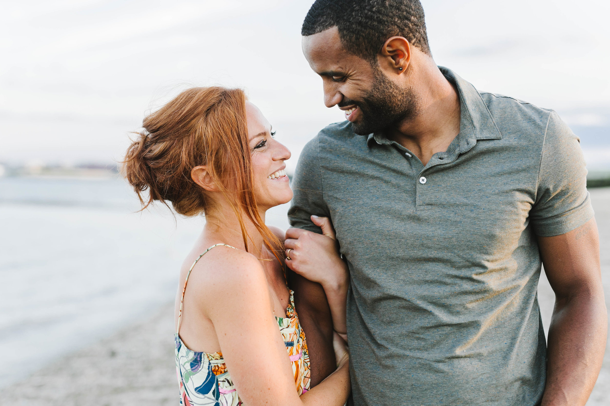 South End Boston Beach Shore Ocean Engagement Session - Emily Tebbetts Photography-76.jpg