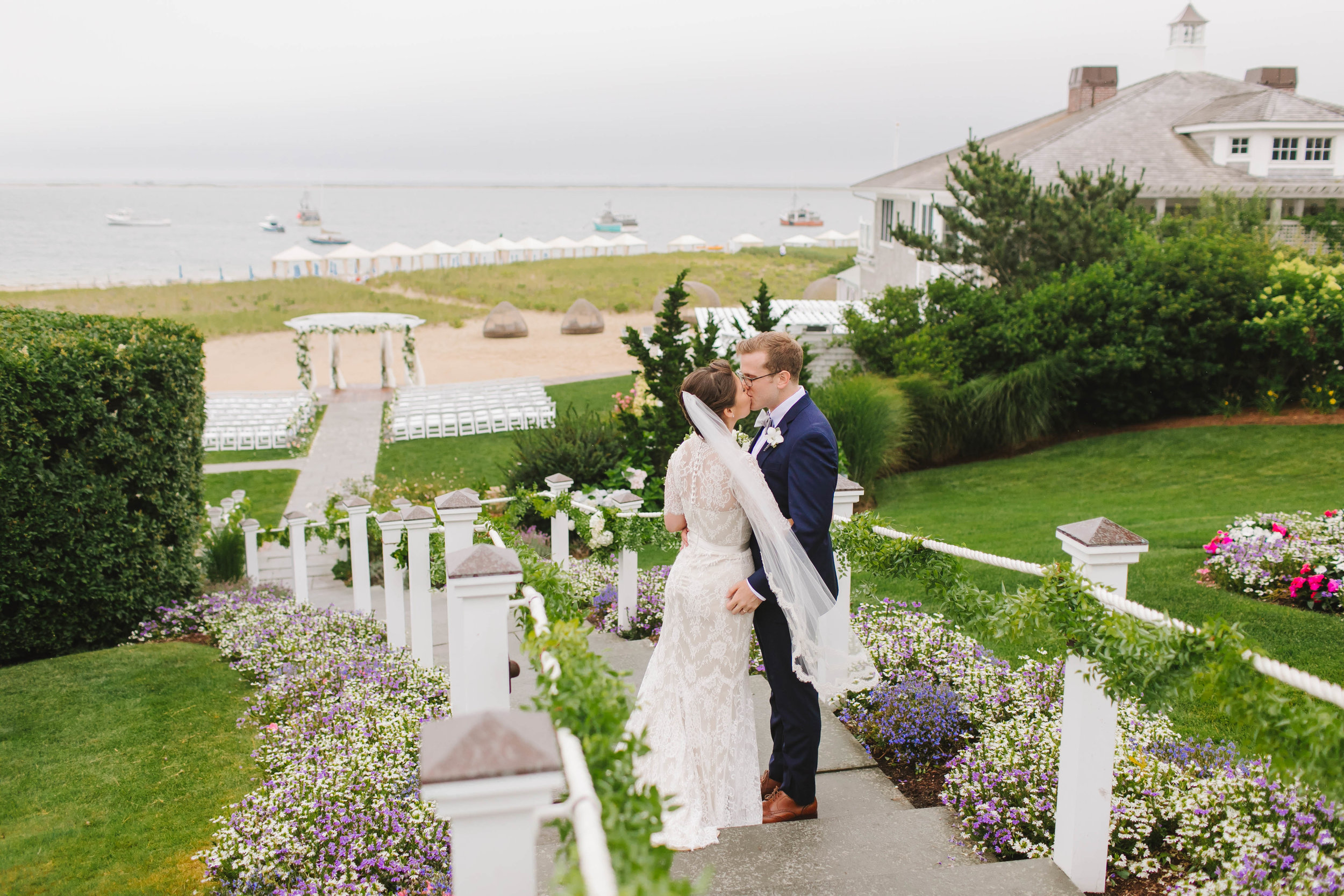 Chatham Bars Inn Cape Cod MA Rain Rainy Wedding with Dog - Emily Tebbetts Photography-4.jpg