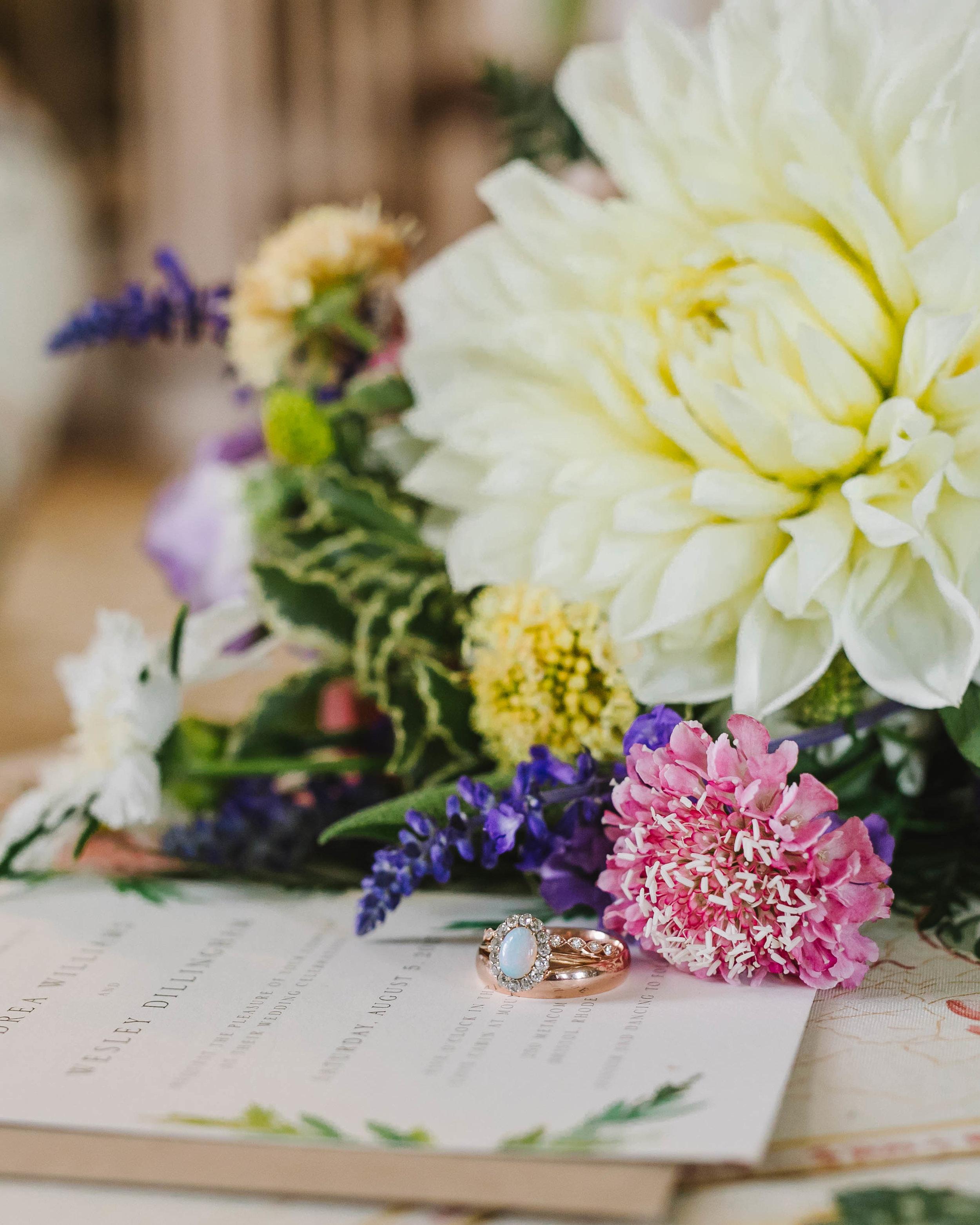 Mount Hope Farm Bristol Rhode Island RI New England Coastal Flower Crown Wedding - Emily Tebbetts Photography-1.jpg
